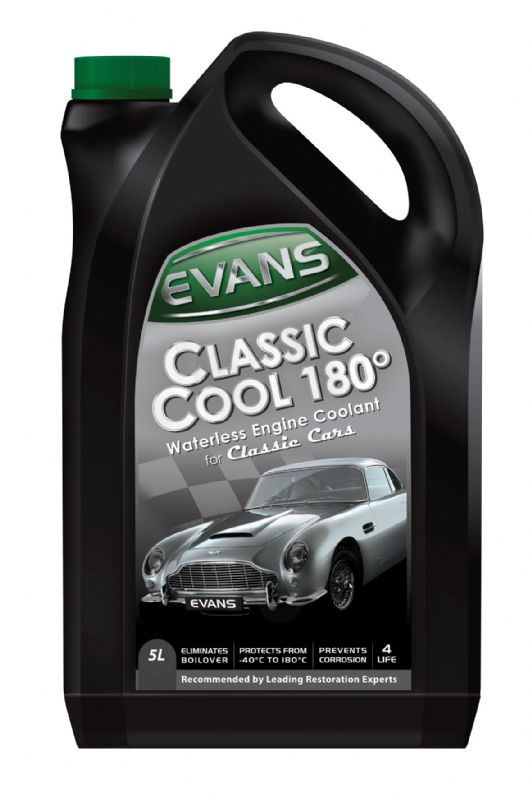 Evans Waterless Engine Coolant Classic Cool 180°C 5litres EVCC1805L